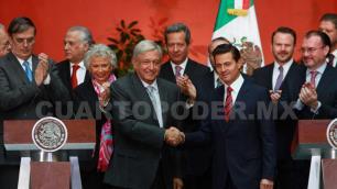 Inician EPN y López Obrador proceso formal de transición