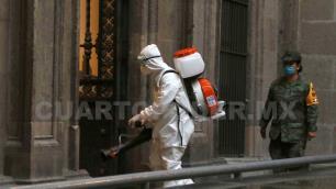México rebasa a RU con 295 mil 262 casos de Covid