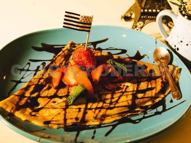 La esencia dulce de Francia, Crepería Breizh Café & Bistro