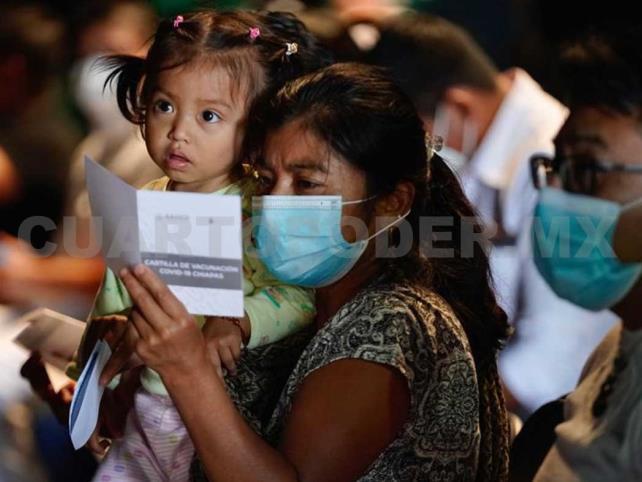 Abren 100 centros de vacunación en Chiapas